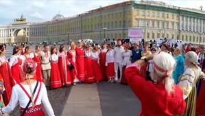 """""""Хороводы мира"""" от блогера. Санкт-Петербург. 2018."""