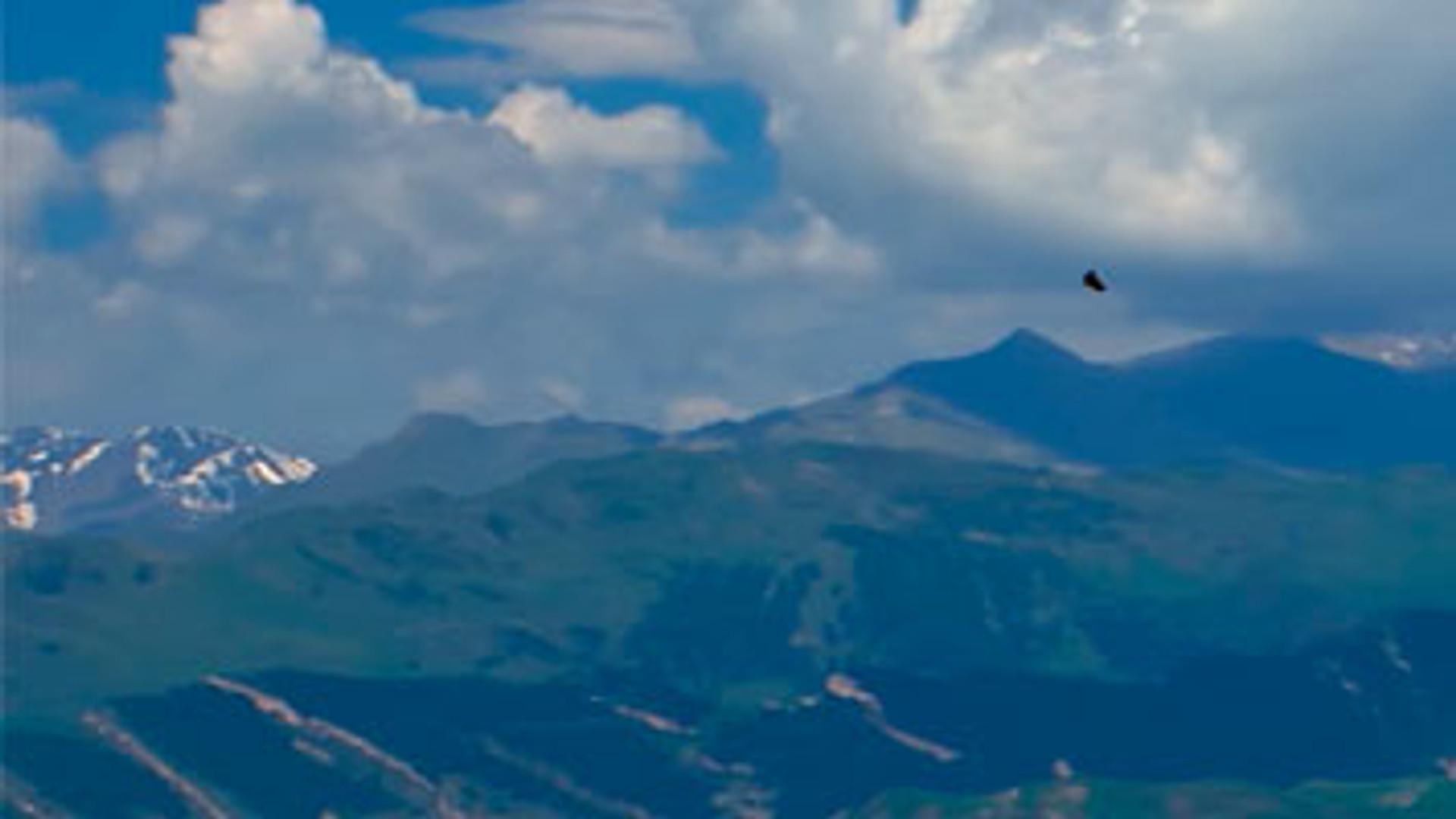 Планински венац. Кавказ од мора до мора.