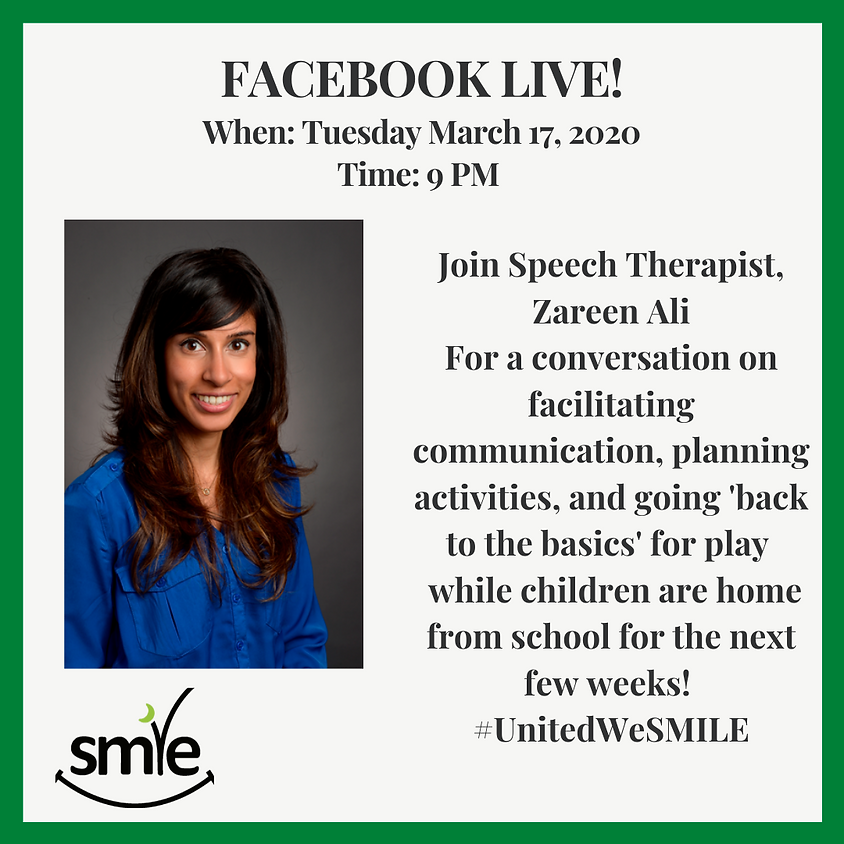 Discussion with Speech Therapist Zareen Ali