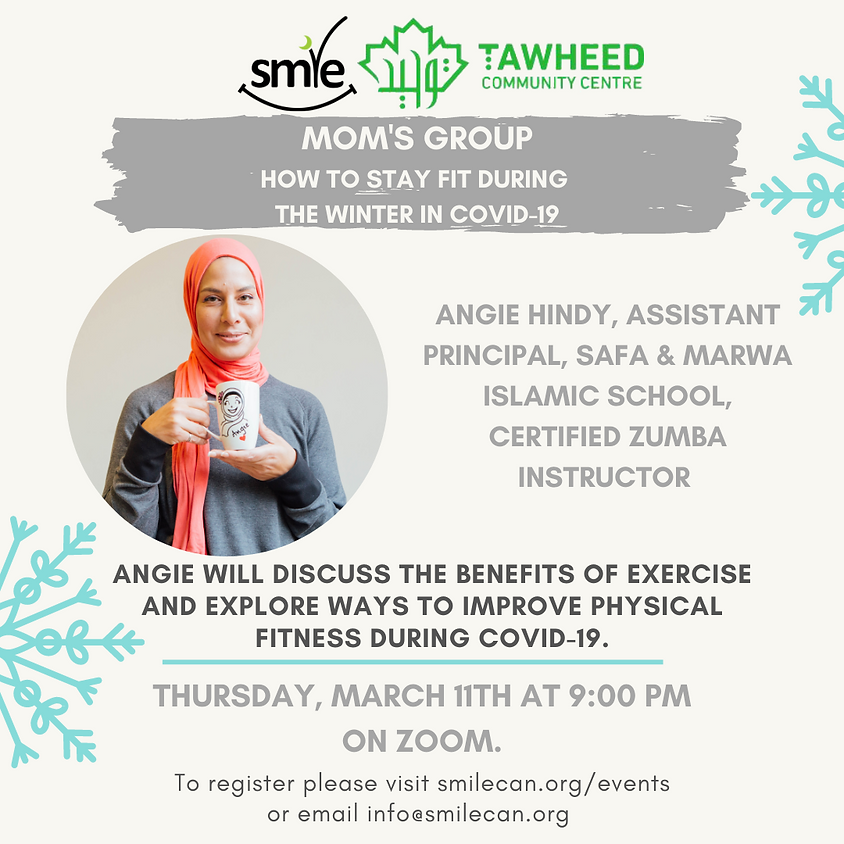 Mom's Group: How to Stay Fit During the Winter In COVID-19