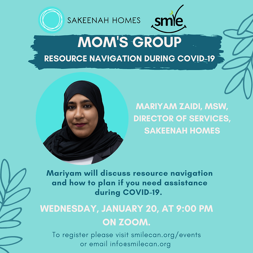 Mom's Group: Resource Navigation During COVID-19
