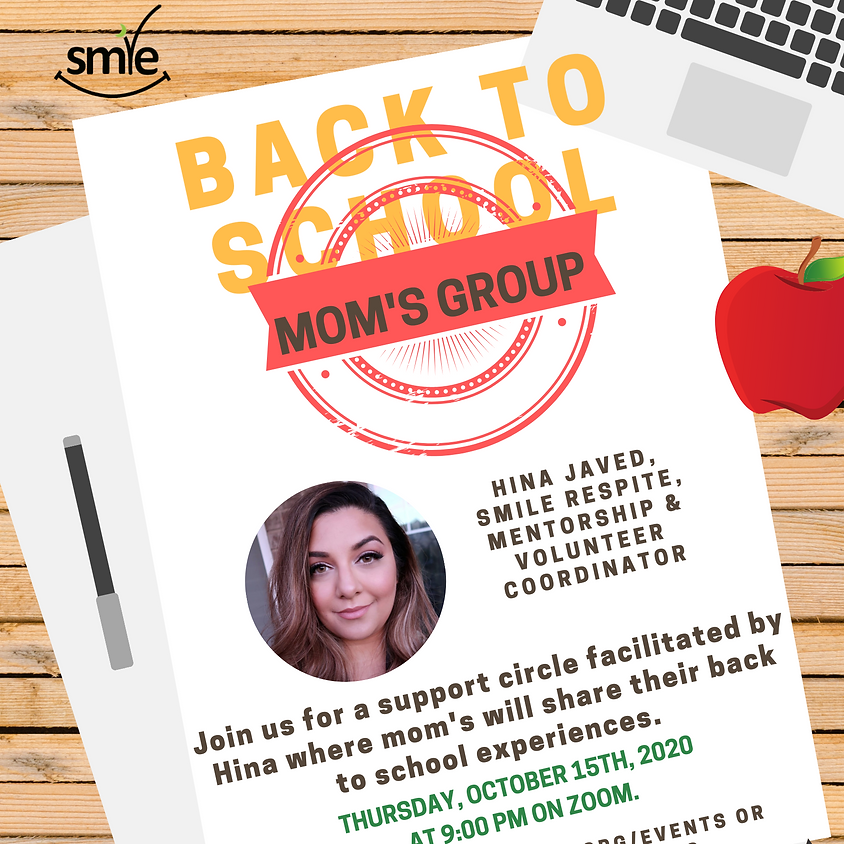 Mom's Group: Back to School Support Stories
