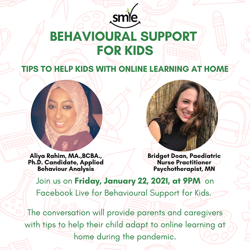 Behavioural Support for Kids: Tips to Help Kids with Online Learning at Home