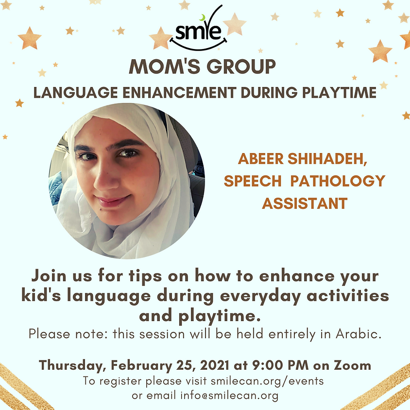 Mom's Group Hosted in Arabic