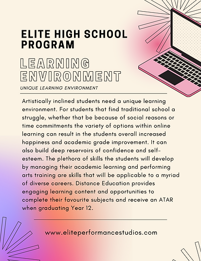 Copy of Cream Online Learning Vibrant Dy