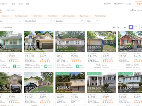 Roofstock Property Purchase: A Quick Summary of Roofstock's Site