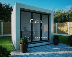 Wild Environments garden room cube link