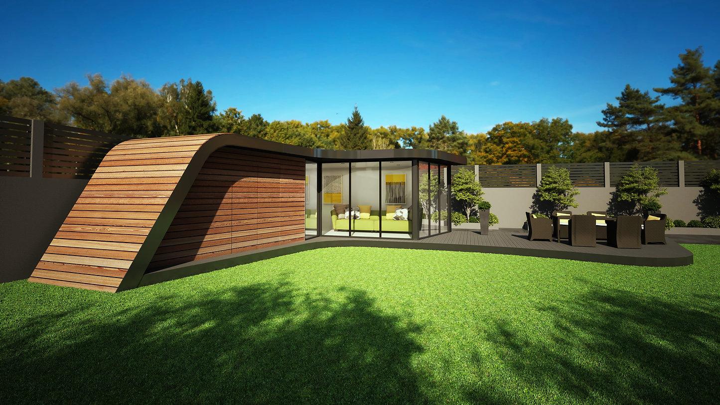 Wild Environments bespoke option garden room