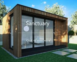 Wild Environments garden room sanctuary link