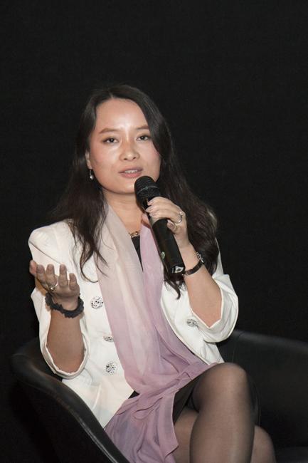 Cindy Li at CSFF