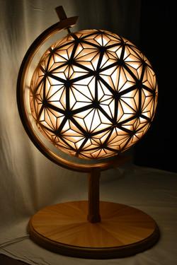 秦野産杉 地球型 行燈