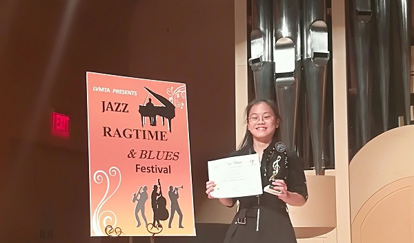 Jazz Festival Honor Award  9/29/2018