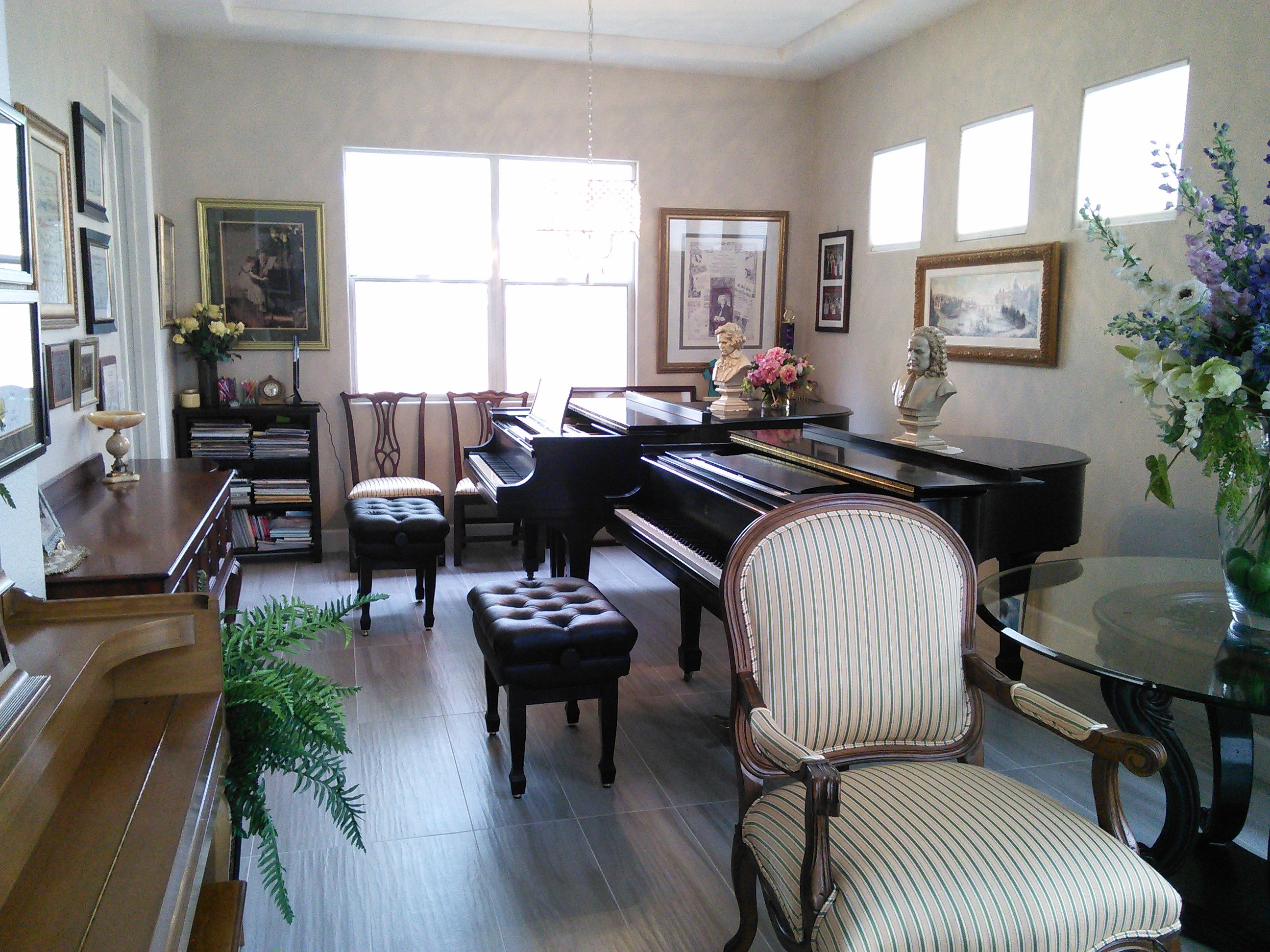 My piano studio #1