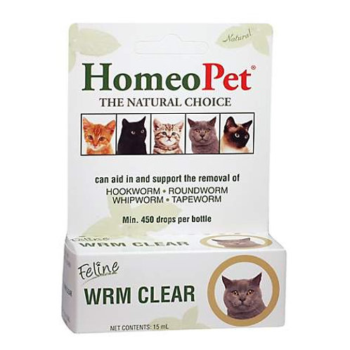 HomeoPet Worm Clear for Cats