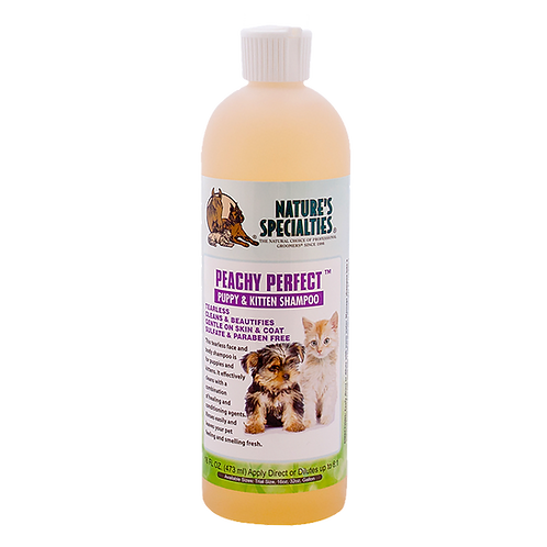 Nature's Specialties Peachy Perfect Puppy & Kitten Shampoo