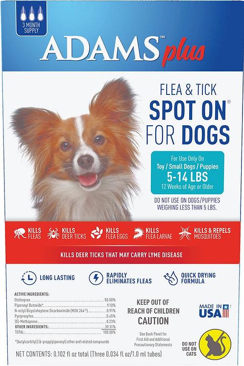 Adams Plus Flea & Tick Spot On for Dogs