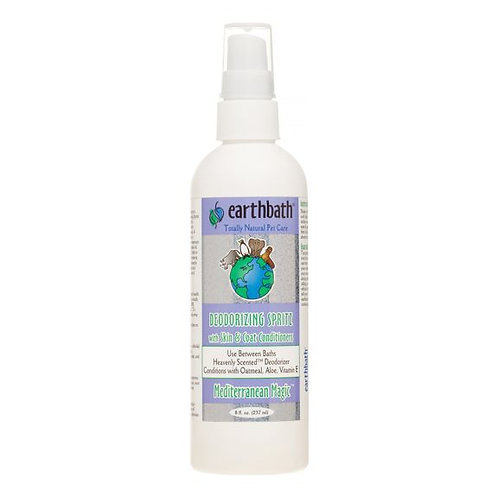 Earthbath Deodorizing Spritz with Skin & Coat Conditioners Mediterranean Magic