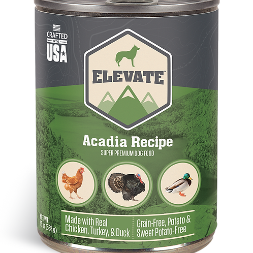 Elevate Acadia Recipe Made with Real Chicken, Turkey, & Duck