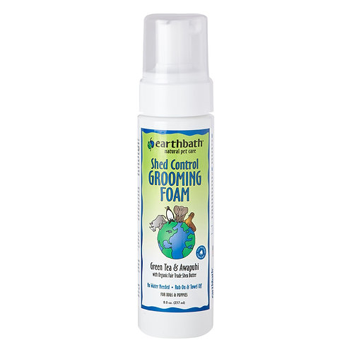 Earthbath Shed Control Grooming Foam