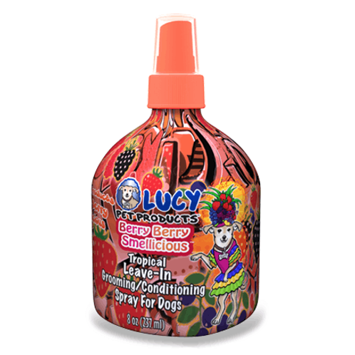 Lucy Pet Berry Berry Smellicious Leave-in Conditioning Spray