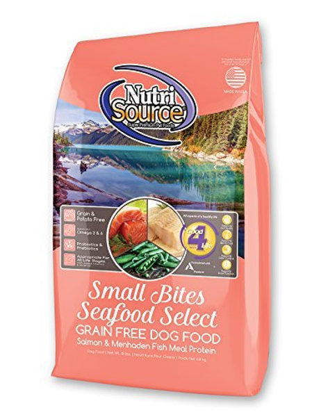 NutriSource Small Bites Seafood Select Grain Free Dog Food