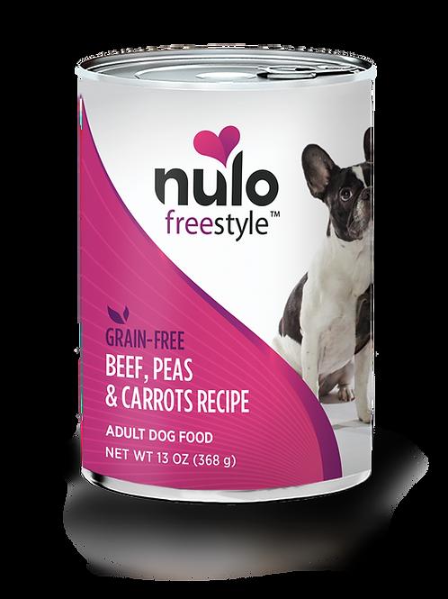Nulo Beef, Peas & Carrots Recipe