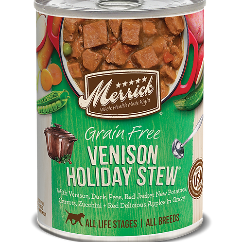 Merrick Venison Holiday Stew
