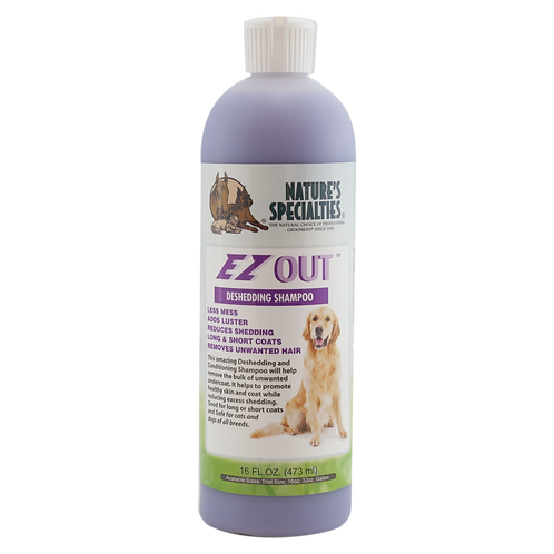 Nature's Specialties EZ Out Deshedding Shampoo