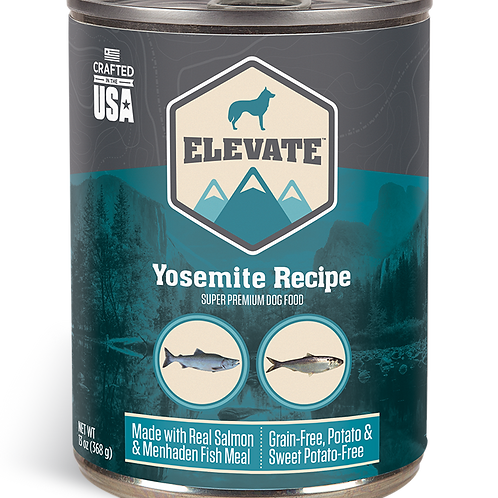 Elevate Yosemite Recipe Made with Real Salmon & Menhaden Fish Meal