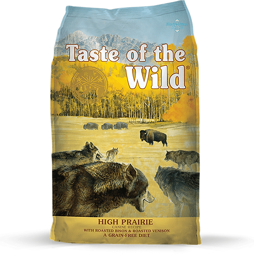 Taste of the Wild High Prairie Canine Recipe with Roasted Bison