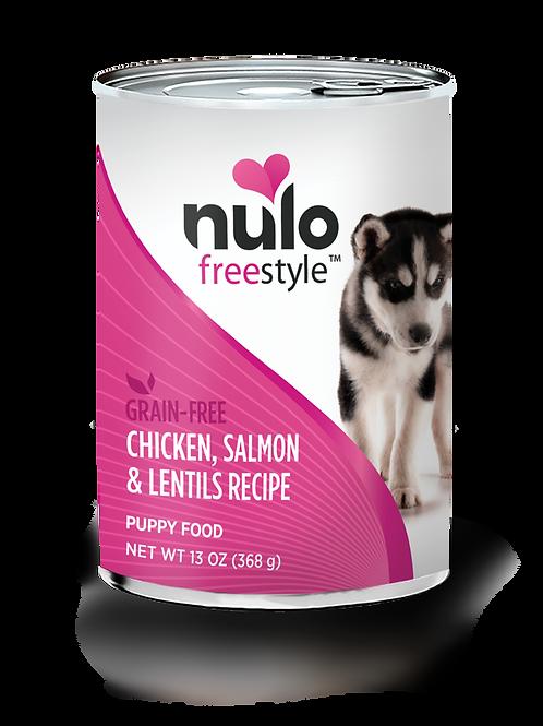 Nulo Chicken, Salmon & Lentils Recipe