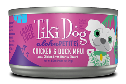 Tiki Dog Chicken & Duck Maui