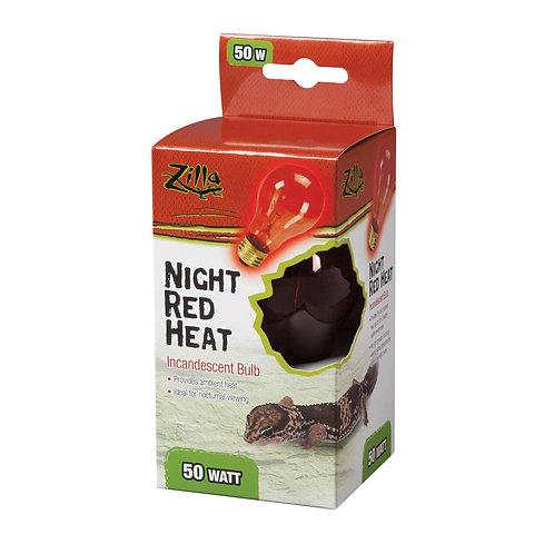 Zilla Night Red Heat Bulb