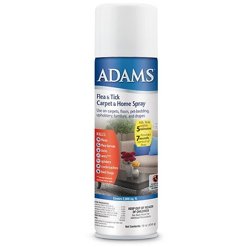 Adams Flea & Tick Carpet & Home Spray