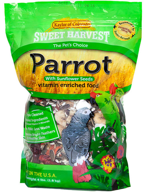 Sweet Harvest Parrot With Sunflorwer Seeds(Vitamin Enriched Food)