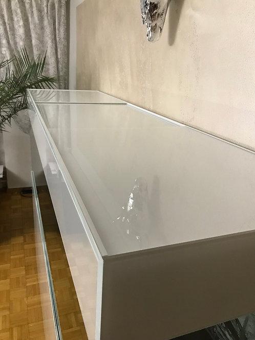 Weissglas Abdeckung 200x60