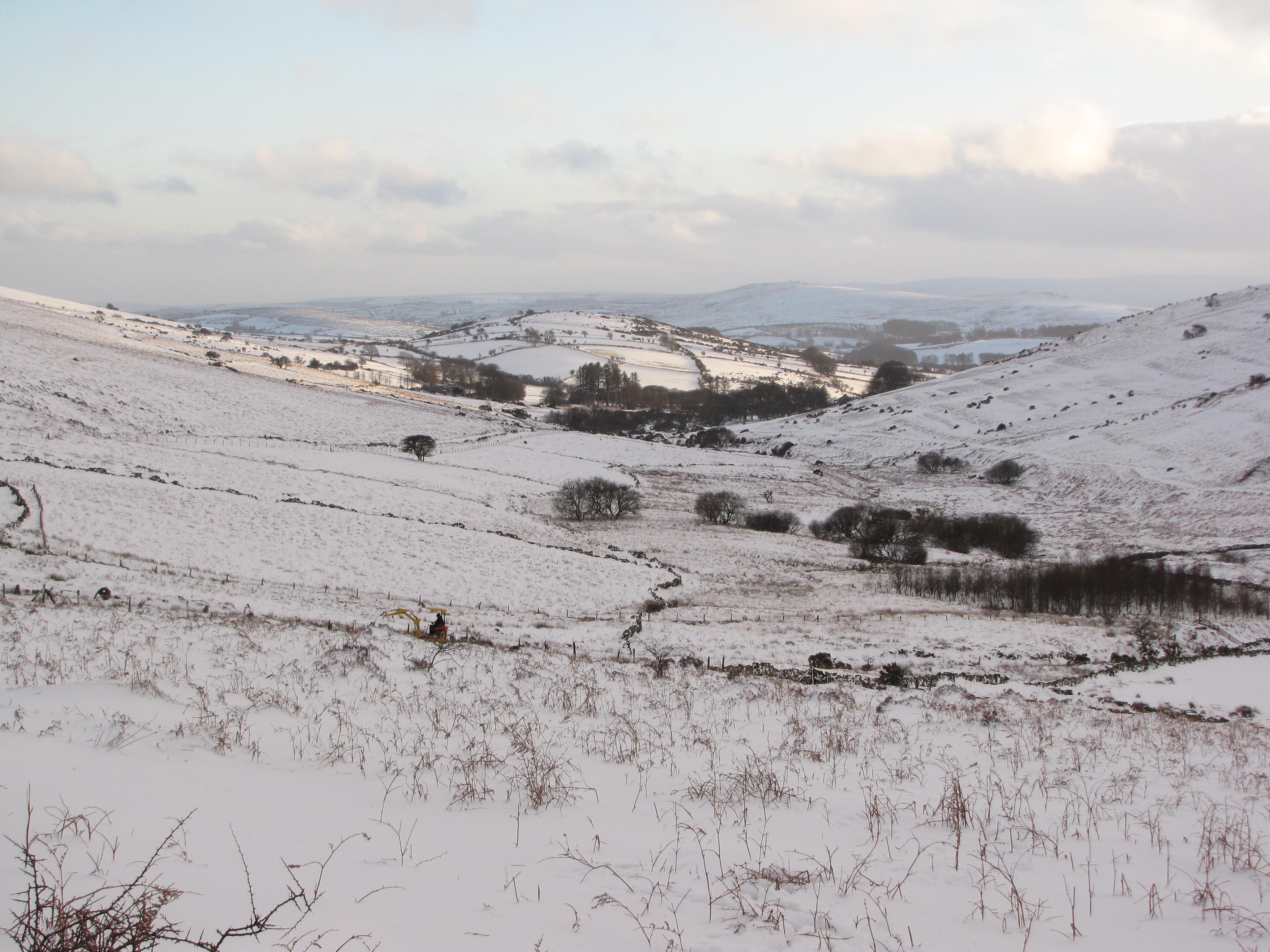 Challacombe winter wonderland