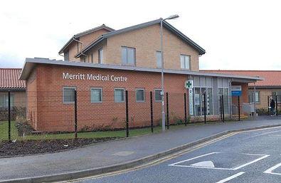 Merrit Medical Centre, Merritt Gardens, Chessington KT9 2GY