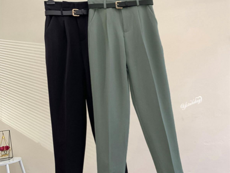Pants/Trouser Trends for Autumn - Winter 2021-2022