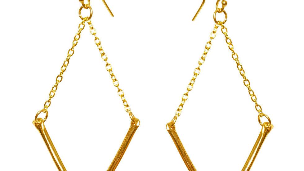 V Earrings