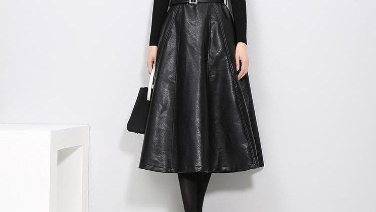 Musset Vegan Leather Dress
