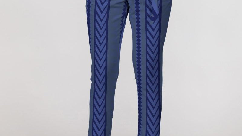 Women's Double Standard Belted Tapered Pants