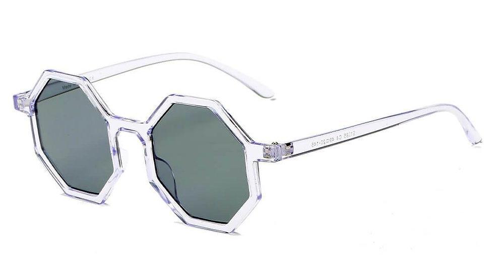 FLORENCE | S1085 - Women Fashion Geometric Round Sunglasses
