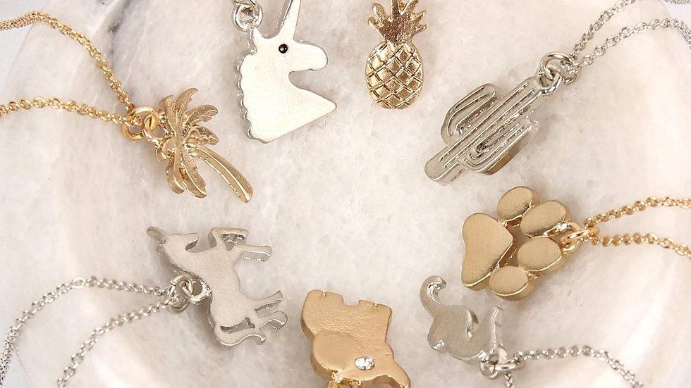 Basic Pendant Necklaces