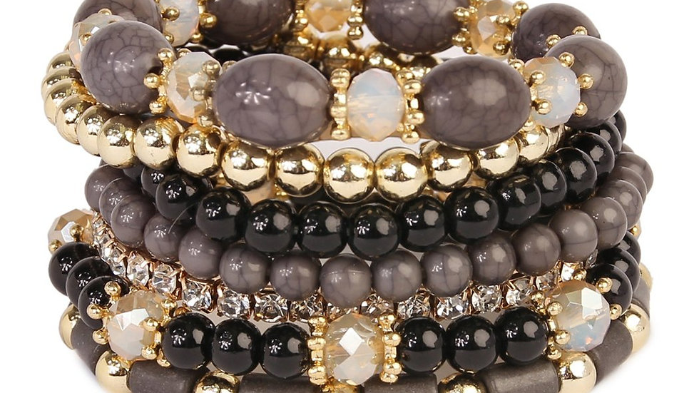 Multibead Stackable Bracelet