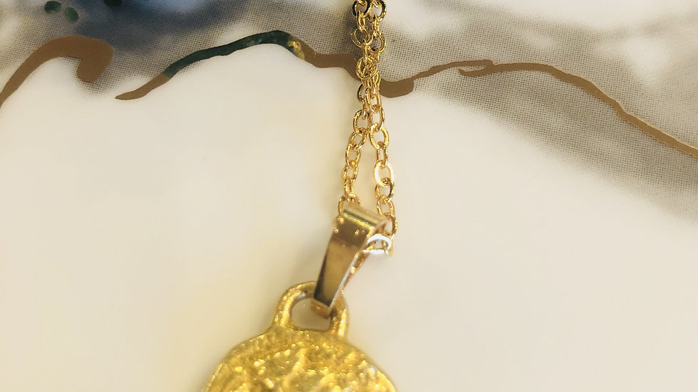 Philosopher's Coin Gold Necklaces