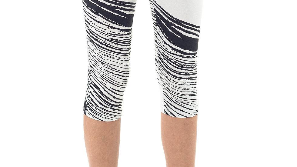 Cropped Print Leggings