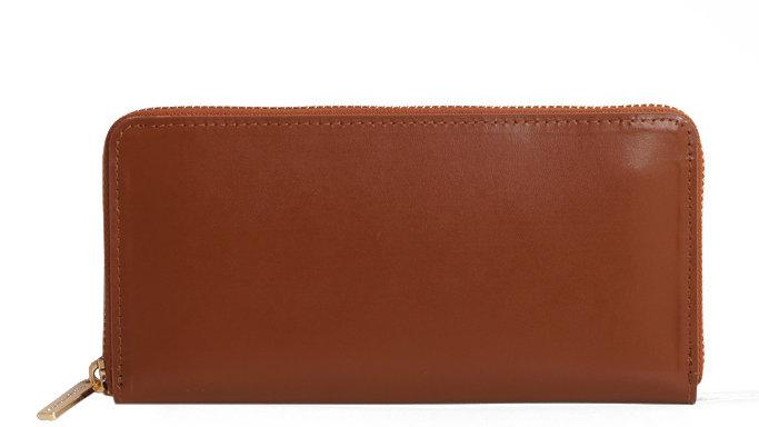 Long Wallet/Purse Tan