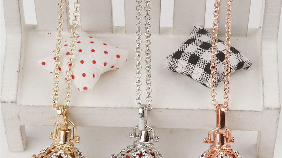 Necklaces Cage Pendants Chimes