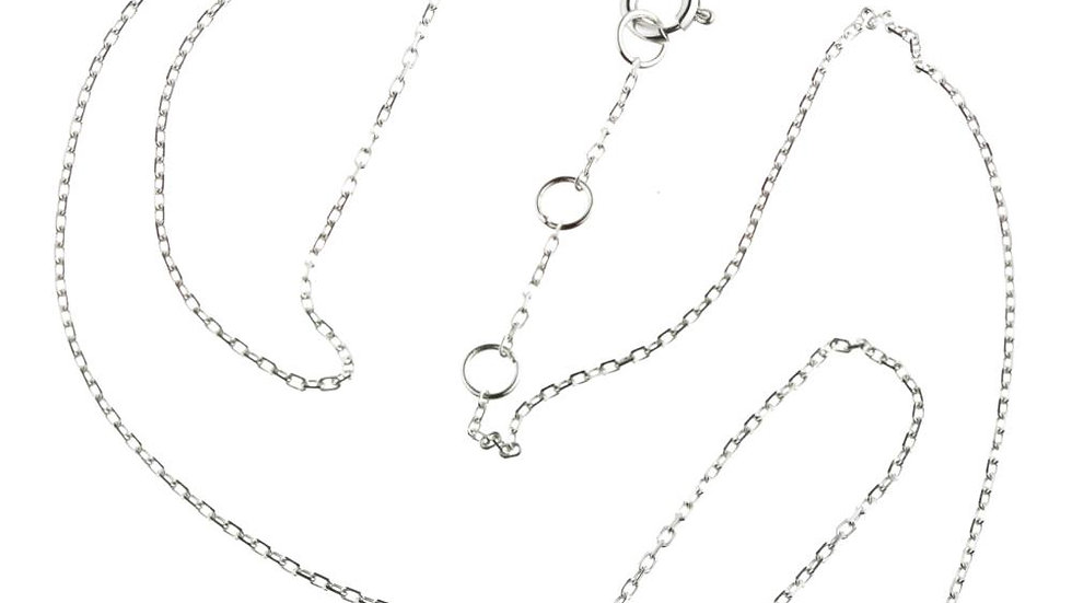 Leto Sterling Silver Black Labradorite & Moonstone Choker Necklace